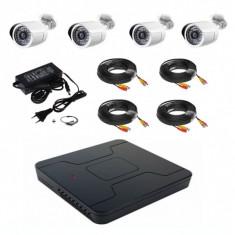 Kit supraveghere complet 4 camere HD