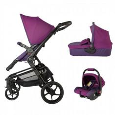 Sistem modular Coccolle Girasole 3 in 1 violet - Carucior copii 3 in 1 DHS