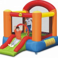 Saltea gonflabila Slide Happy Hop - Casuta copii Happy Hop, Multicolor