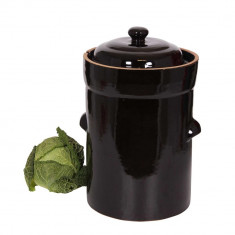 Oala pentru varza acra / lactofermentatie, 15 litri - oala, cratita