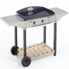 Masa de lucru din inox pentru grill 60 cm - Gratar Gradina