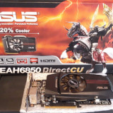 Placa video ASUS Radeon HD6850 DirectCU 1GB DDR5 256-bit v2