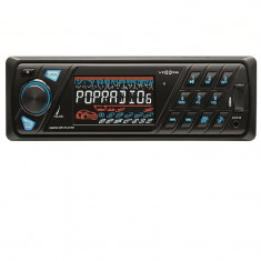 Radio auto cu MP3 player, USB, telecomanda, Sal - Conectica auto
