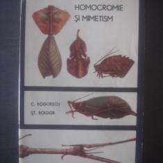 C. BOGOESCU, ST. BOLDOR - HOMOCROMIE SI MIMETISM