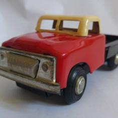 Masinuta /camion tabla China, vechi, cu frictiune, din jucariile importate in RO - Vehicul