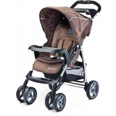 Carucior Sport Monaco Brown - Carucior copii 2 in 1 Caretero