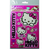 Abtibild Hello Kitty, set stickere auto