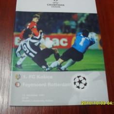 Program Fc Kosice - Feyenoord - Program meci