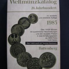 Catalog de monede sec. XX. 684 pagini