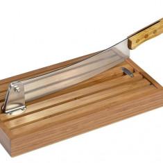 Feliator de paine, din bambus - Feliator manual