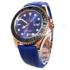 Yacht-Master Blue Automatic ! Calitate Premium ! - Ceas barbatesc, Lux - sport, Mecanic-Automatic, Inox, Cauciuc, Data