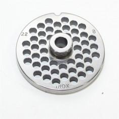 Sita din inox, de 8 mm, pentru tocator nr. 22