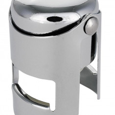 Dop de sampanie, pentru pastrarea sticlelor deschise - Dop protectie toba Moto