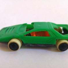 Masina / Masinuta Minilux, plastic, romaneasc, anii '80, colectie, 6x3cm