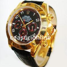 Daytona Leather Strap Automatic ! ! ! Calitate Premium ! - Ceas barbatesc, Lux - sport, Mecanic-Automatic, Inox, Piele, Ziua si data