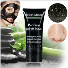 Masca Neagra crema Shills Black Mask, tub 50ml, peel off, curatare puncte negre - Masca fata