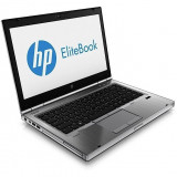 Laptop second hand HP 8470P I5-3320M 2.6GHz up to 3.30Ghz 4GB DDR3 HDD 320GB Sata Radeon HD 7570M 1GB DVD-RW 14.0inch Webcam