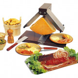 Aparat raclette cu 2 rampe