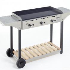 Masa de lucru din inox pentru grill 90 cm - Gratar Gradina