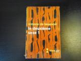 Le deuxieme sexe 1 - Simone de Beauvoir, Gallimard, 1971, 511 pag