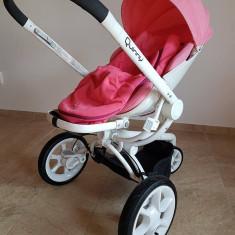 Vand Carucior Mood Pink Precious, 0-3 ani, Quinny, stare foarte buna - Carucior copii 3 in 1 Quinny, Roz