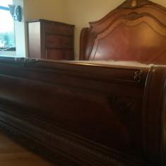 Pat lemn masiv - Pat dormitor