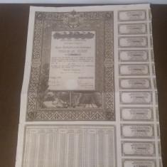 Obligatiune Romania, Renta unificata 4.5% 1941, 20000 lei