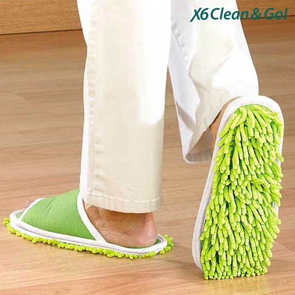 Papuci de Casa Mop Clean & Go foto mare