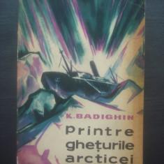 K. BADIGHIN - PRINTRE GHEŢURILE ARCTICEI - Carte de calatorie