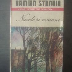 DAMIAN STANOIU - NUVELE SI ROMANE