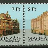 Ungaria 1991- CEPT, serie neuzata