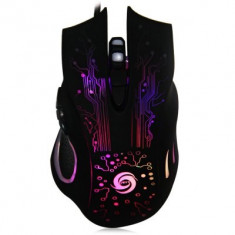 Mouse Gaming cu fir, 3200DPI, negru