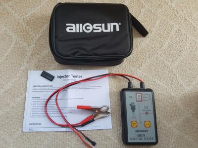 Tester injectoare - Fuel Injector - Fuel Pump -  Allsun EM276 Pressure Gauge foto