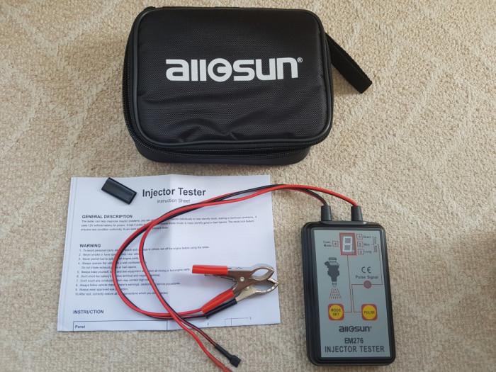 Tester injectoare - Fuel Injector - Fuel Pump -  Allsun EM276 Pressure Gauge foto mare