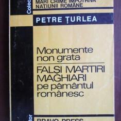 Petre Turlea - Falsi martiri maghiari pe pamantul romanesc - Istorie