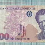 Bancnota 50.000 lei 1996 seria-006D...545 - Bancnota romaneasca