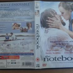 The Notebook – DVD [A] - Film romantice, Engleza