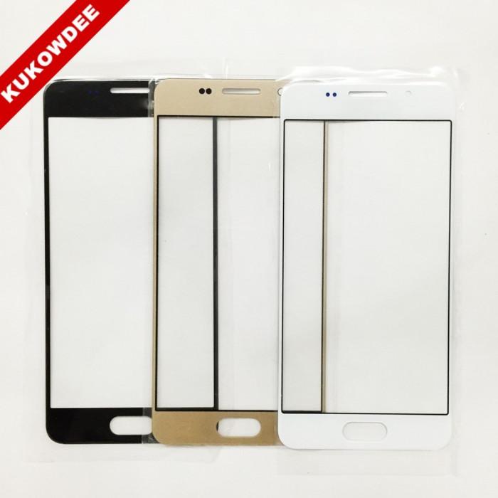 Geam Samsung Galaxy A7 2016  negru auriu alb  / ecran sticla nou