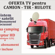 Sistem TV camion - TIR - rulota