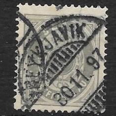 Islanda 1875, Stampilat