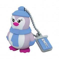 Memorie USB Emtec Marine Miss Penguin 8GB USB 2.0 - Stick USB