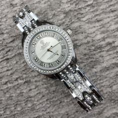 Ceas Dama Rolex DateJust Silver ! Cea Mai Buna Calitate ! Cutie Cadou !, Quartz