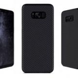 Husa Samsung Galaxy S8 carbon TPU Gel neagra - Husa Telefon