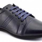 Pantofi Sport Barbatesti bleumarin inchis - 3 cusaturi - Pantofi barbat, Marime: 41, 43, 44