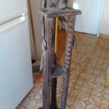 Sculptura de lemn