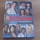 Grey's Anatomy - Season Three - Seriously Extended - 25 Ep - DVD [B, C] NTSC - Film serial, Drama, Engleza