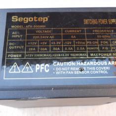 Sursa PC 500 W Segotep ATX-500WH., 500 Watt