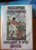 Enciclopedia civilizatiei si artei egiptene de Georges Posener (1974)
