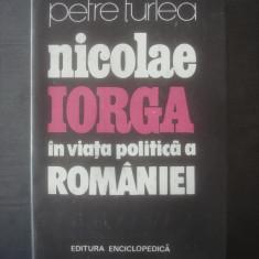 PETRE TURLEA - NICOLAE IORGA IN VIATA POLITICA A ROMANIEI