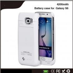 Baterie externa power case 4200 mah Samsung Galaxy S6 \ s6 edge
